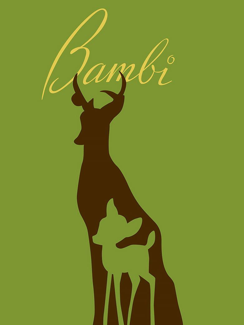 bambi_poster_by_citronvert79-d3avdxk