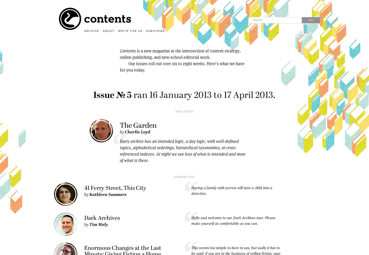 Contenido revista | una nueva revista para la editorial de la nueva escuela