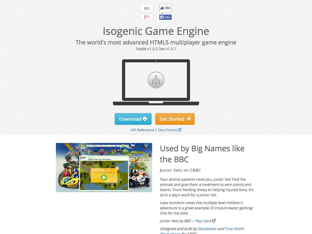 motor de juego isogénico