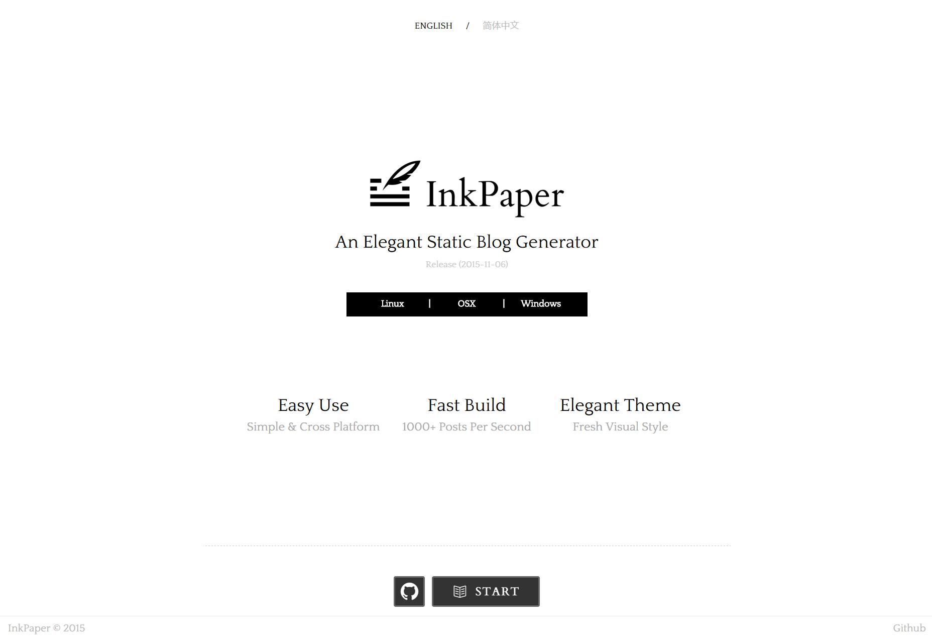 InkPaper: Generador de blogs estáticos de escritorio