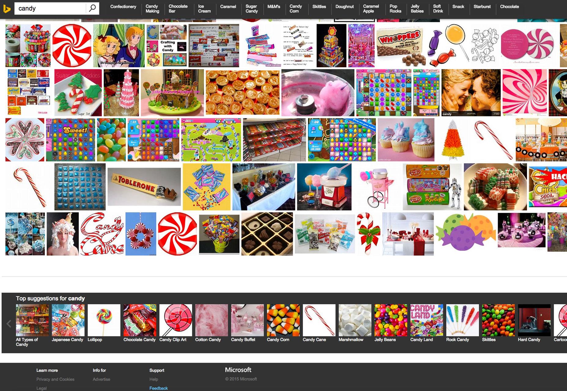 Bing-Imágenes-Captura de pantalla