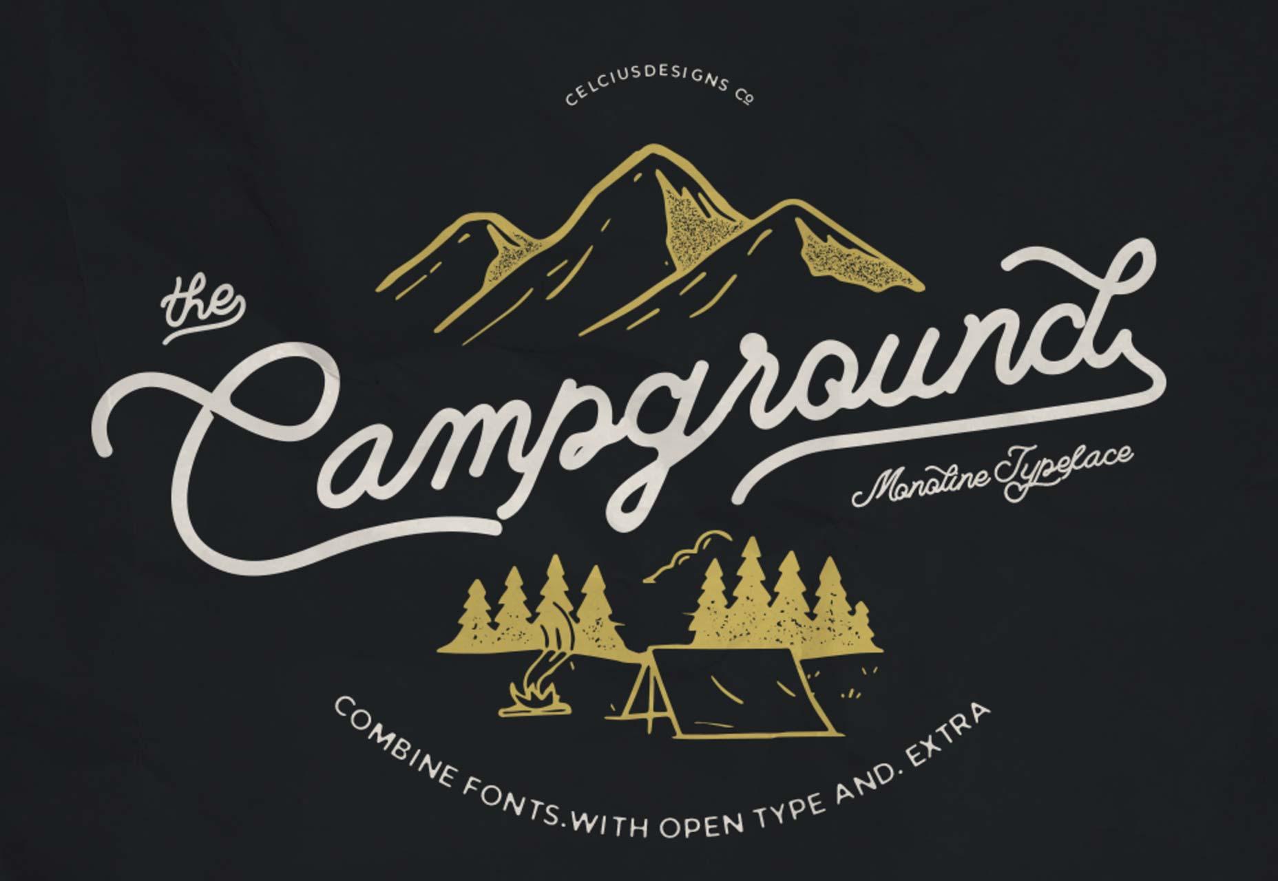 terreno de camping