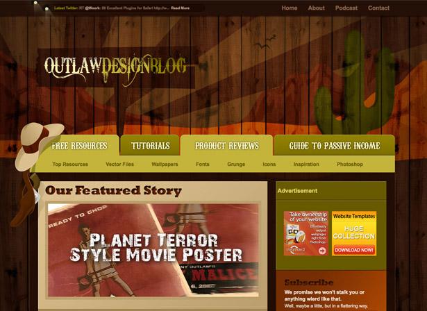Outlaw Design Blog