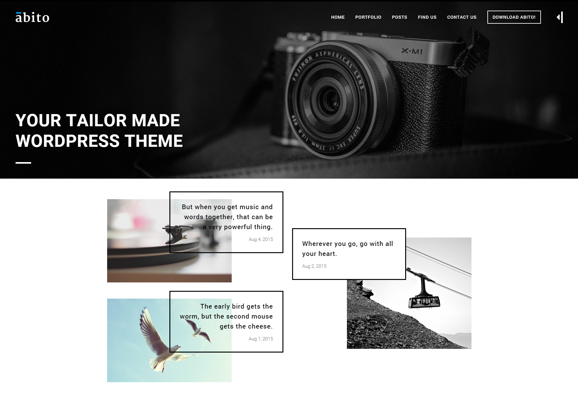 Abito: Modern WordPress-thema voor meerdere doeleinden