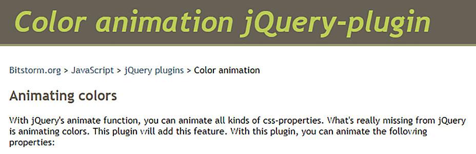 Animación de 71 colores