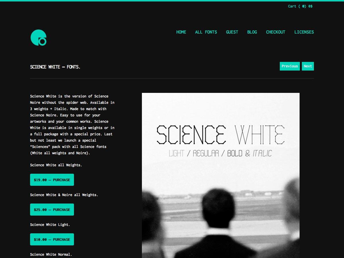 ciencia blanca