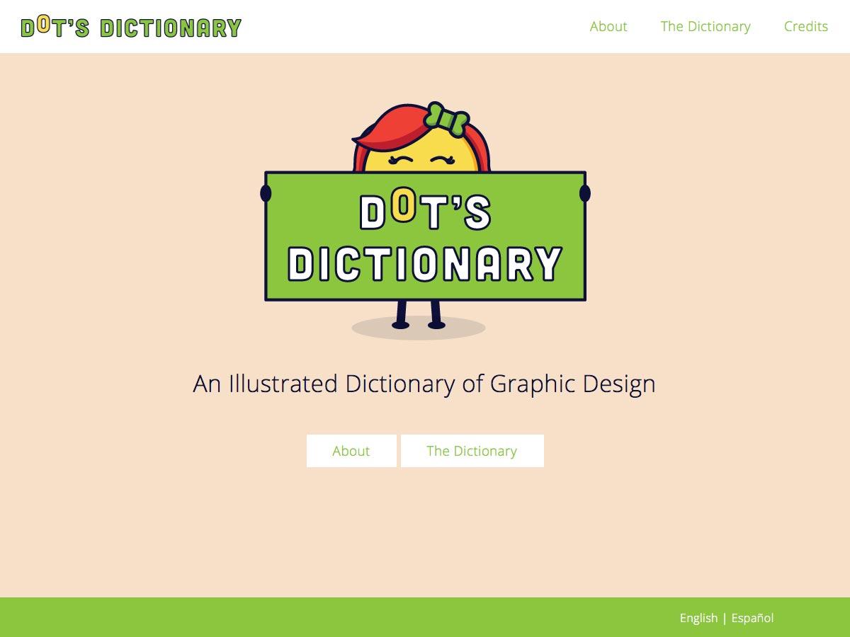 diccionario de puntos