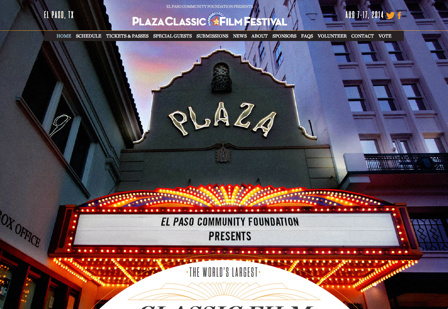 plaza festival de cine clásico
