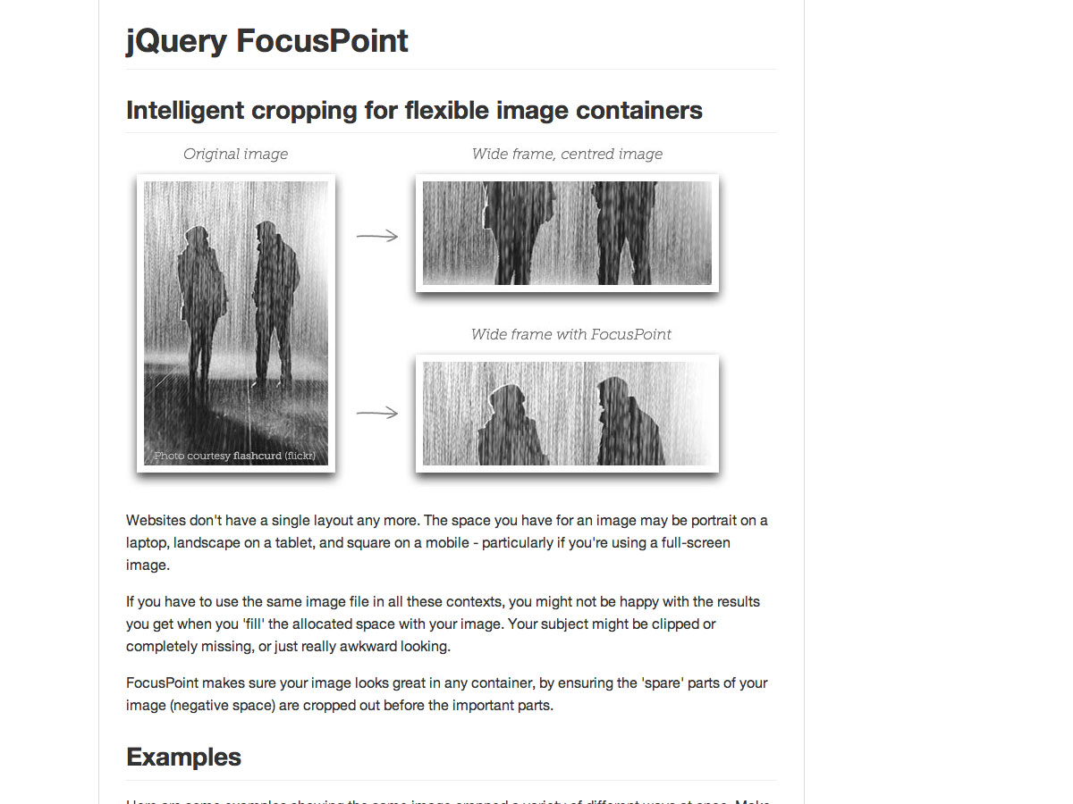 jquery focuspoint