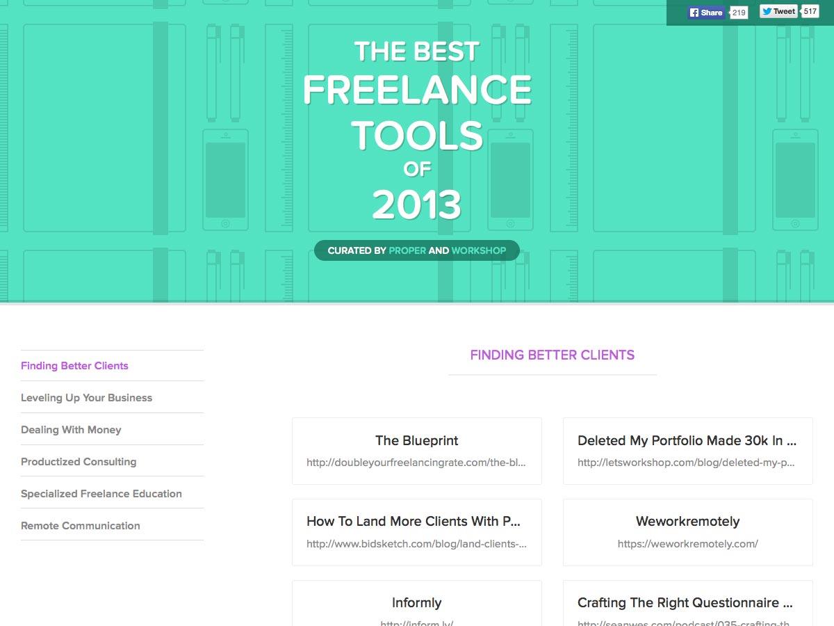 mejores herramientas independientes de 2013