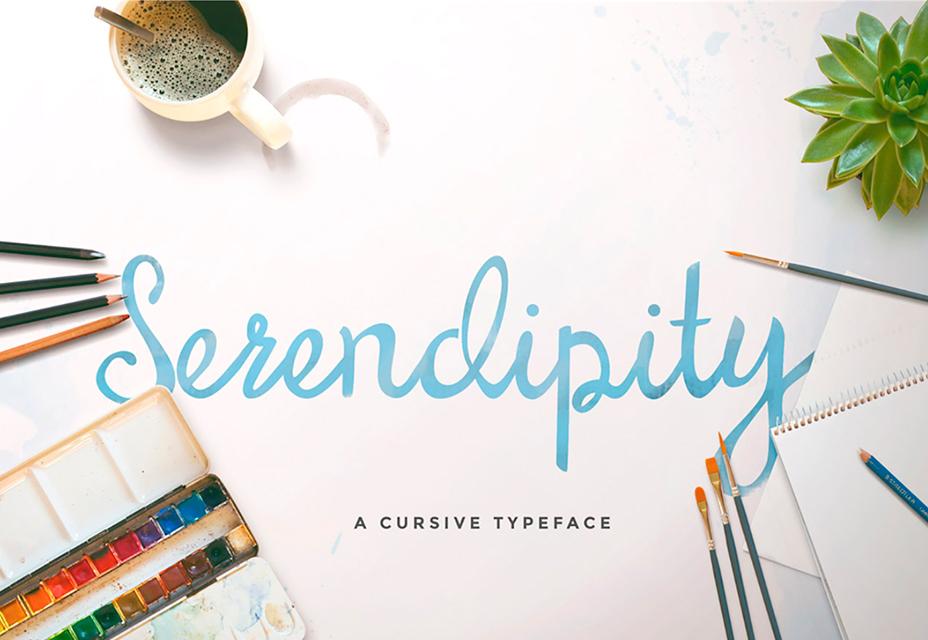 Fuente Serendipity Script