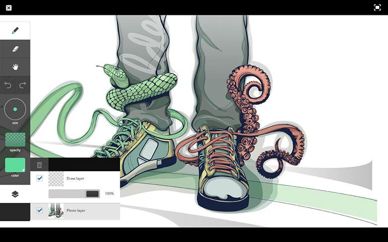 adobe-ideas-android-captura de pantalla