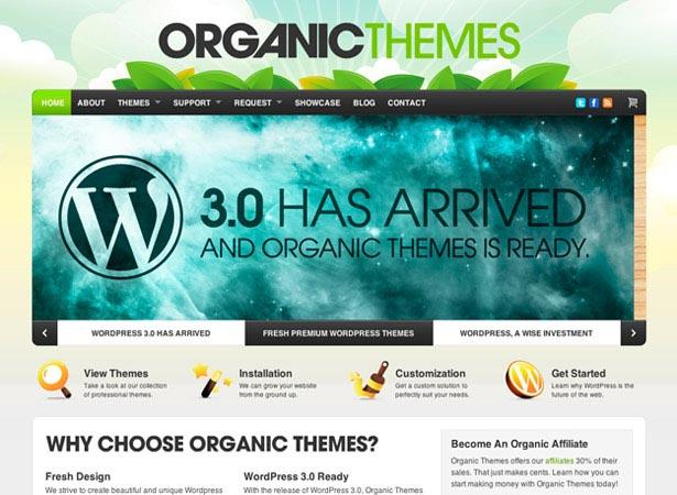 Organische thema's