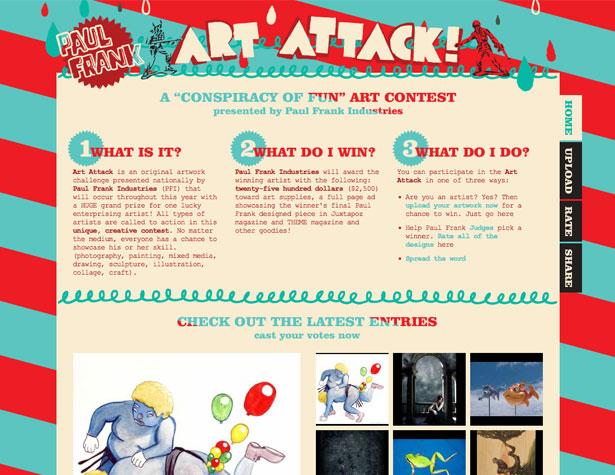 ataque del arte