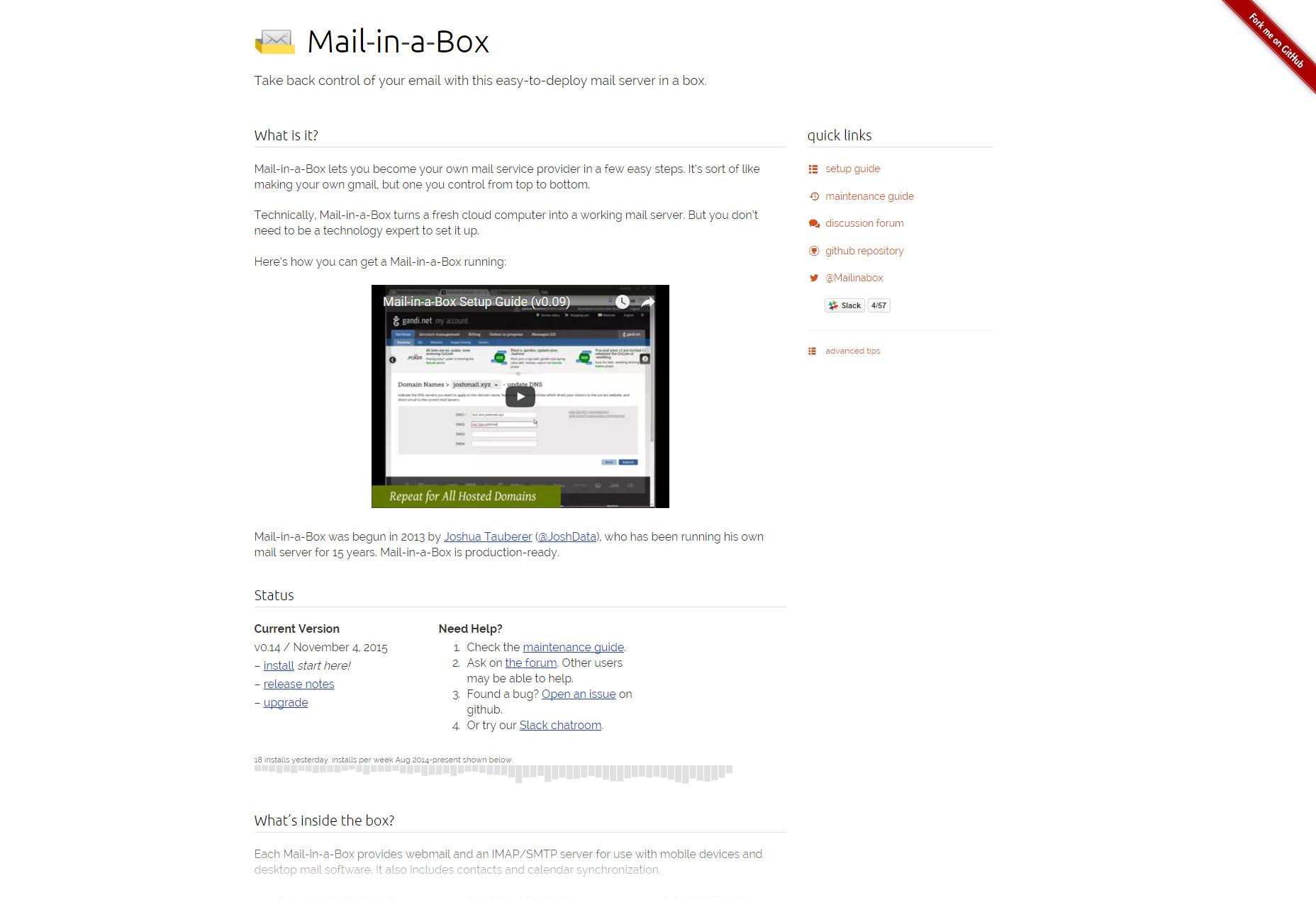Correo en una caja: servidor de correo fácil de colocar