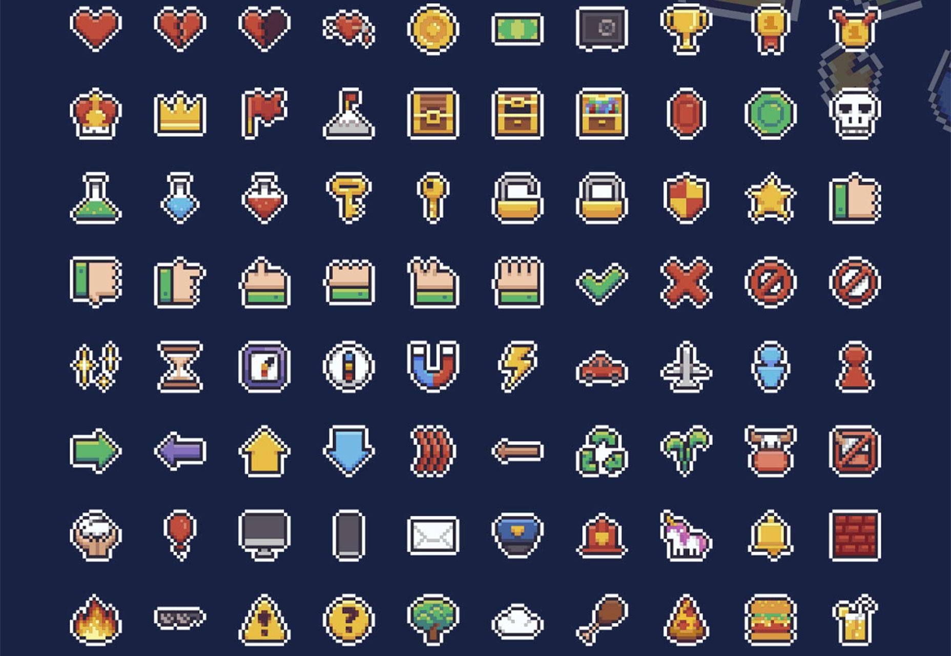 pixel-ikoner