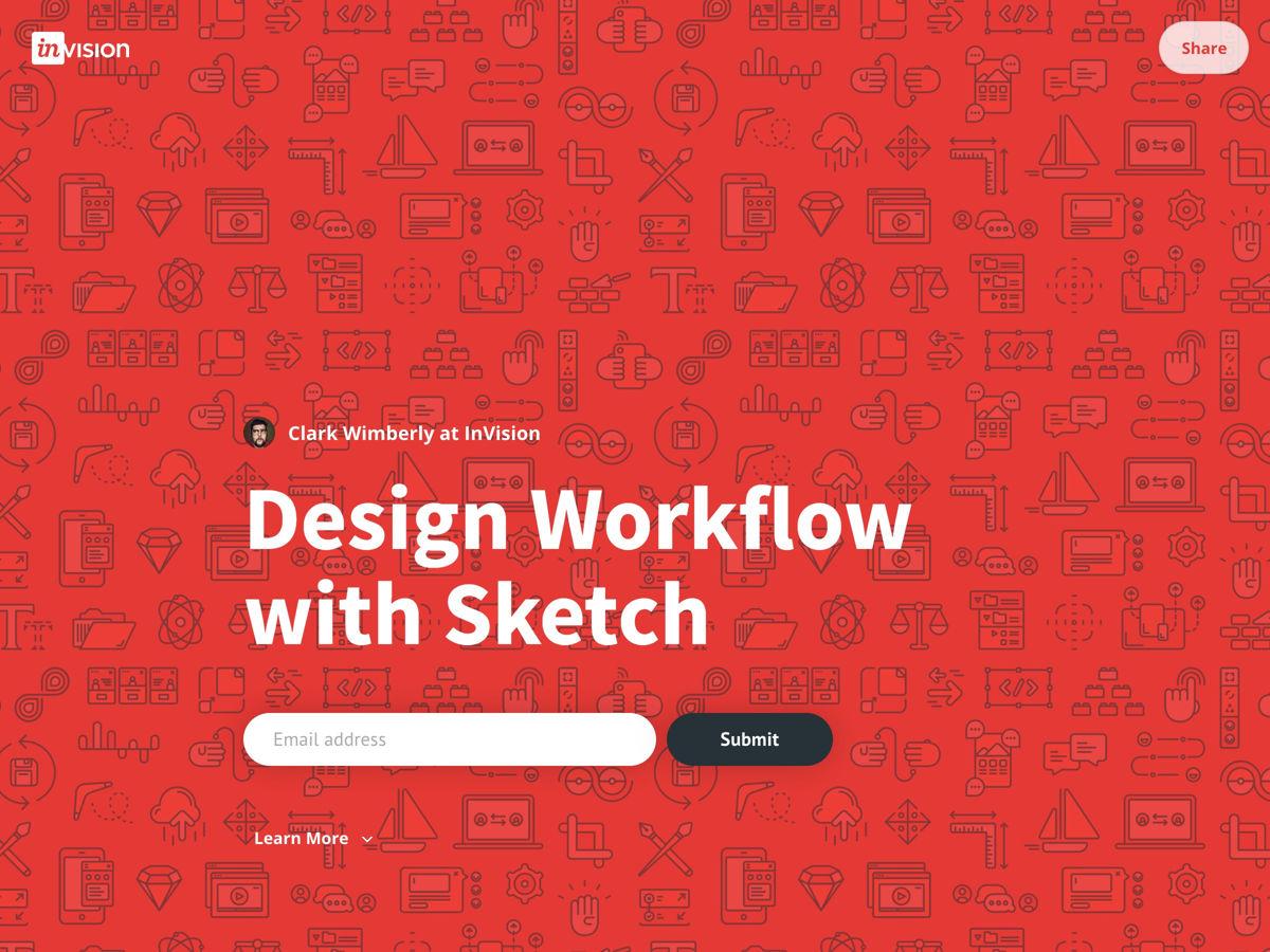 Ontwerp workflow met schets