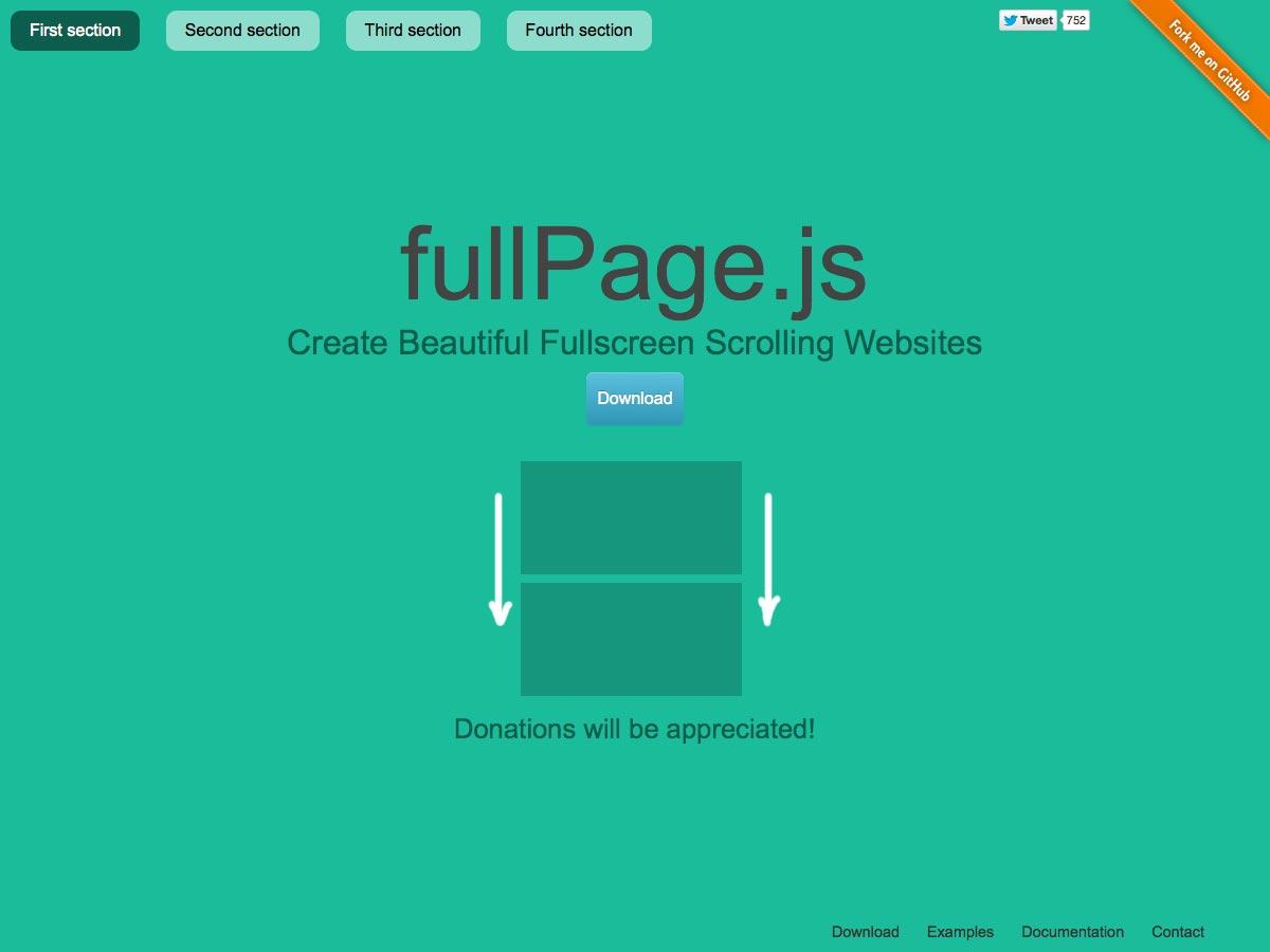 página completa