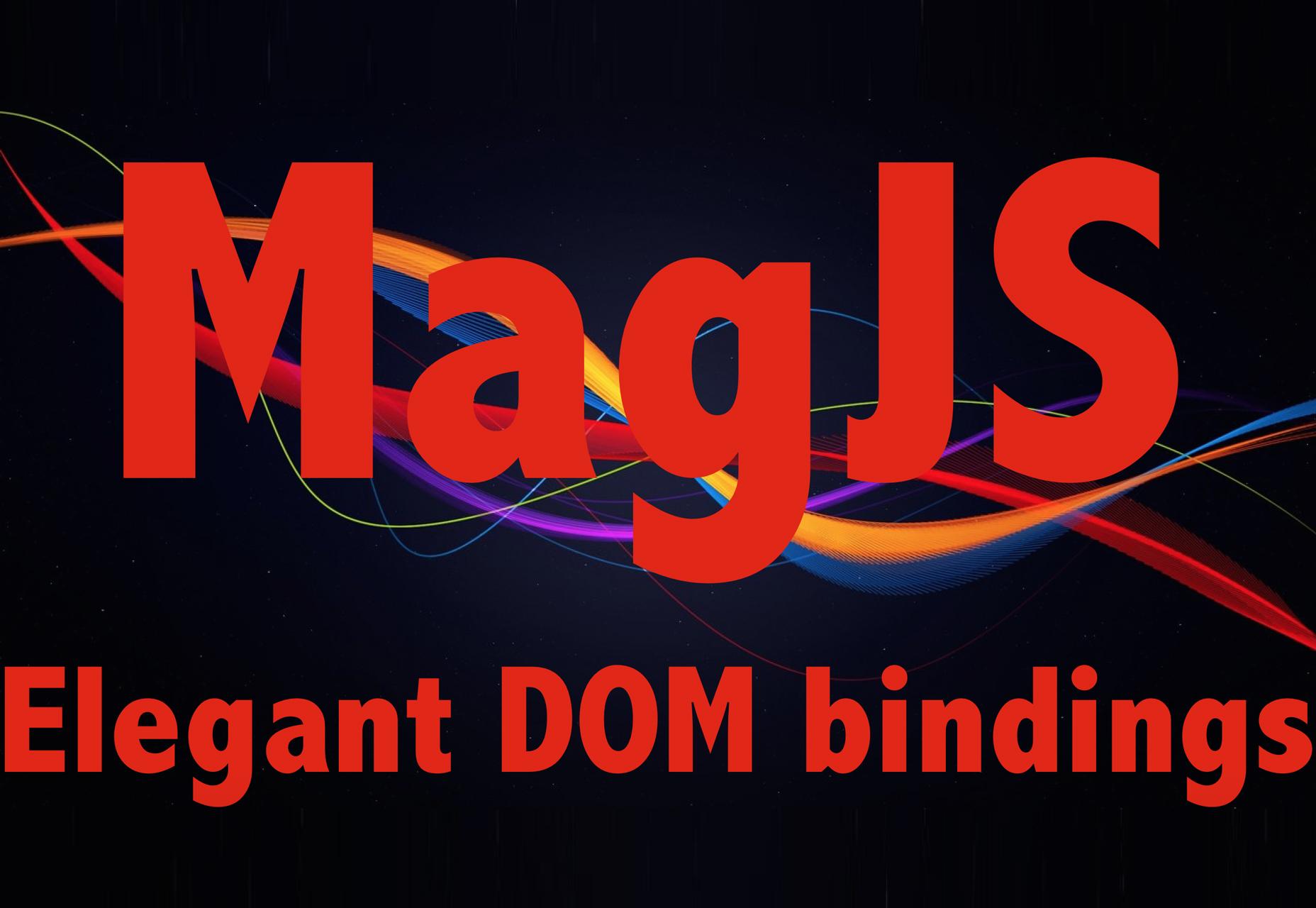 Mag.js: biblioteca intuitiva de plantillas de componentes de JavaScript a HTML