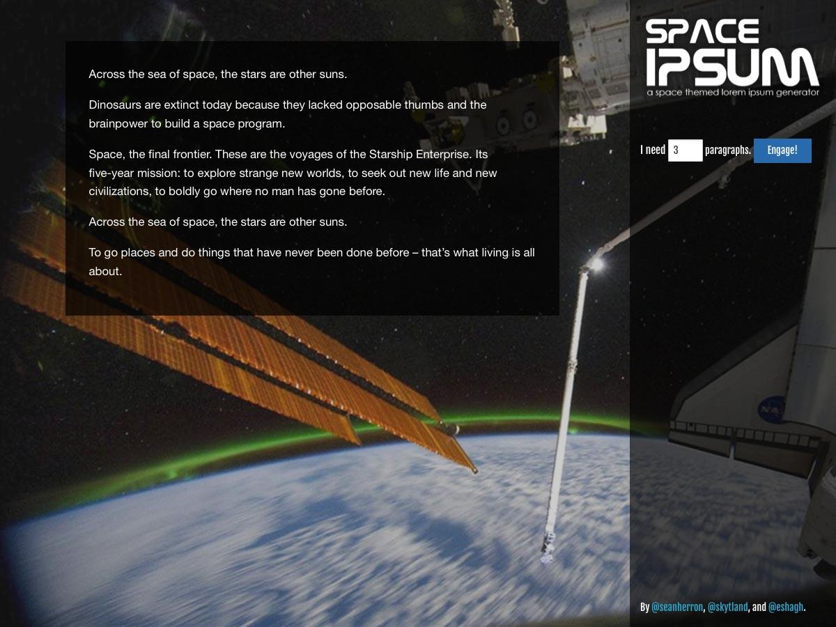 espacio ipsum