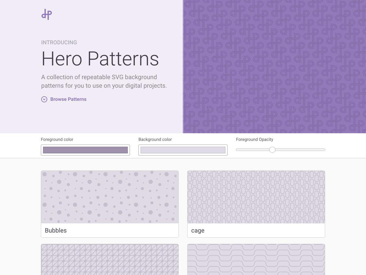 patrones de héroe