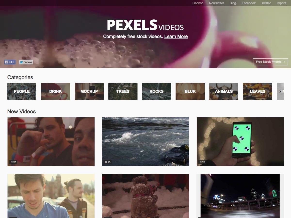 pexels video's