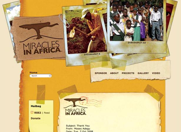 Milagros en África
