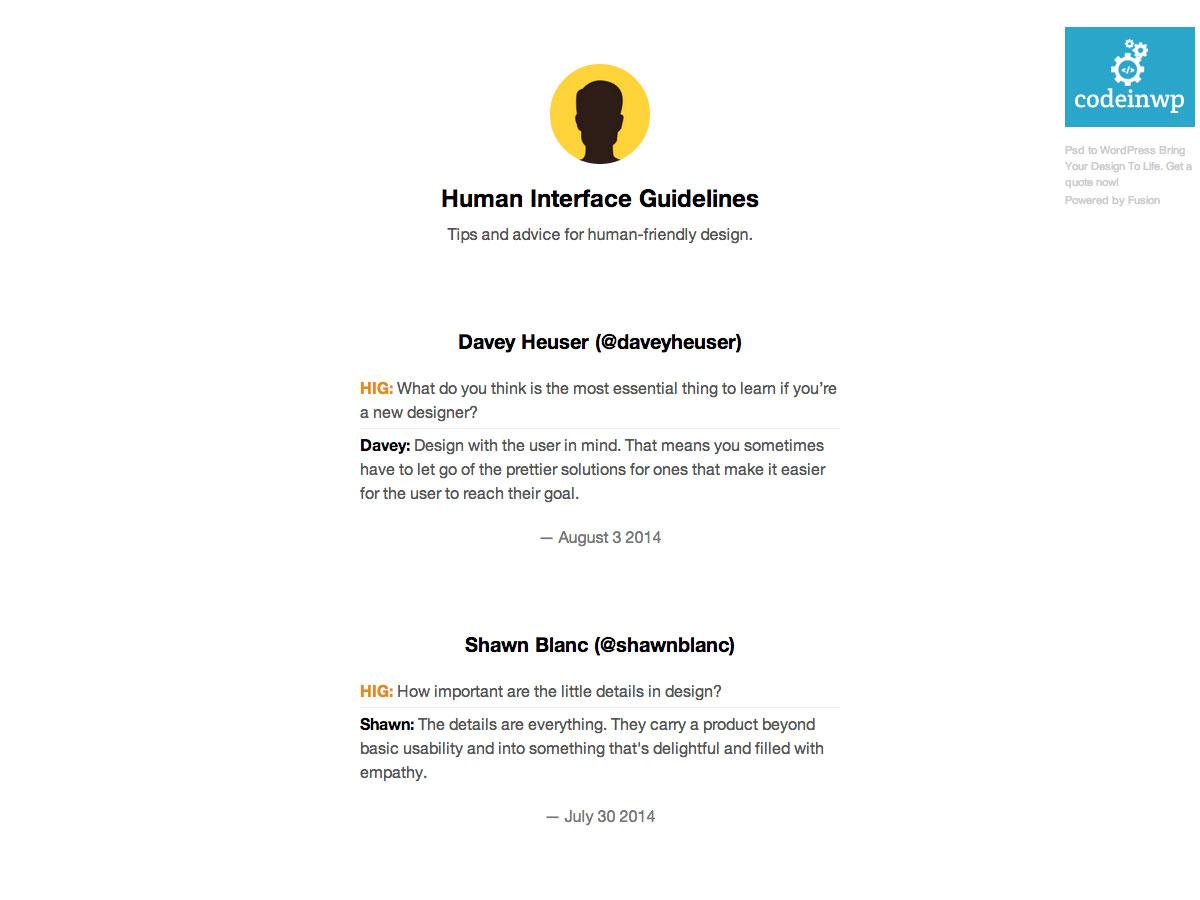 pokyny pro lidské rozhraní