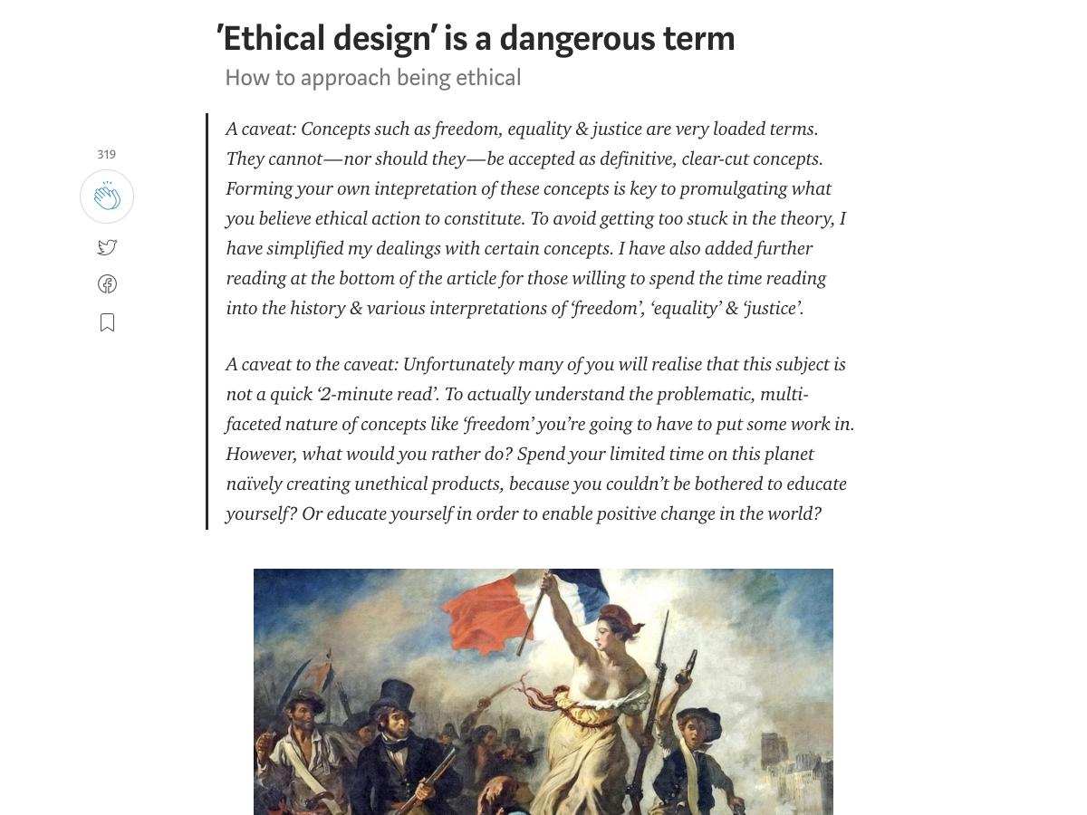ético