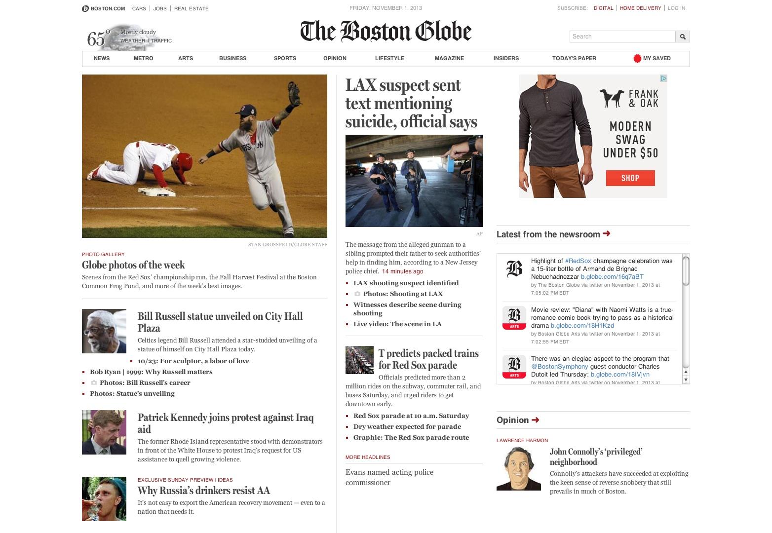 El Boston Globe