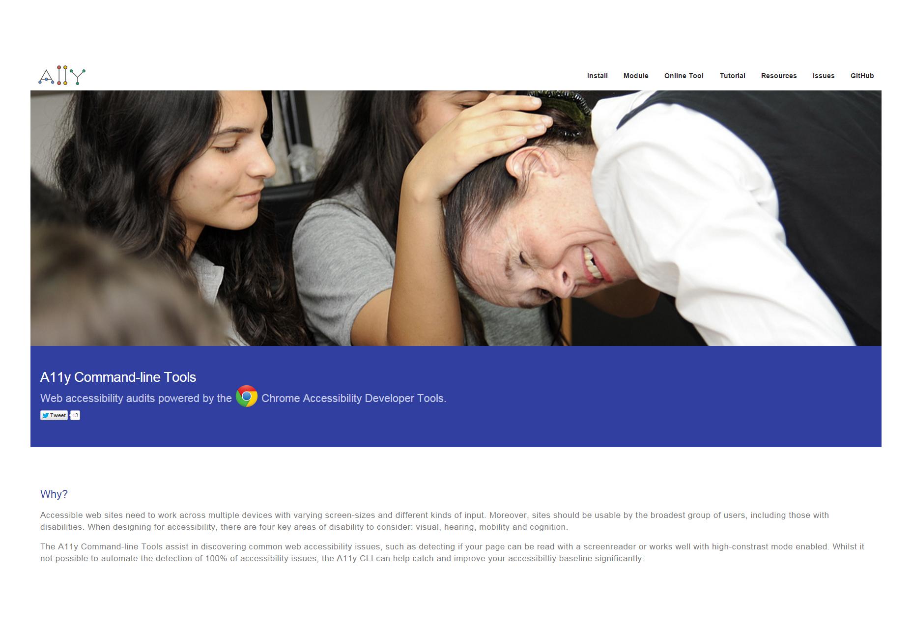 A11y: una herramienta de accesibilidad en línea para sitios web