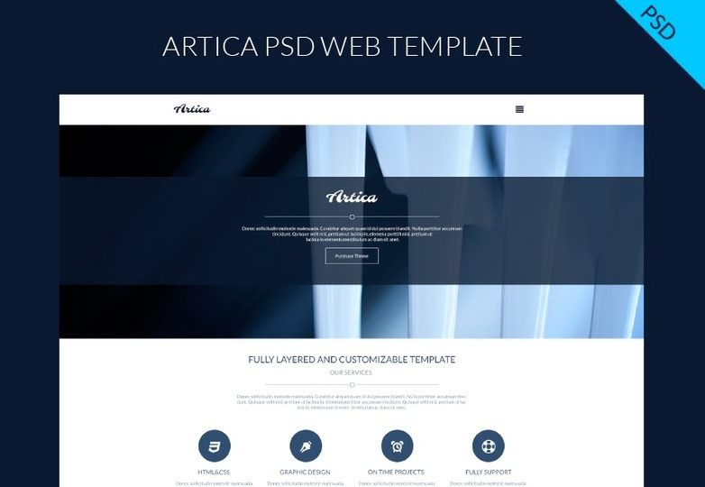 artica-psd-one-page-web-template