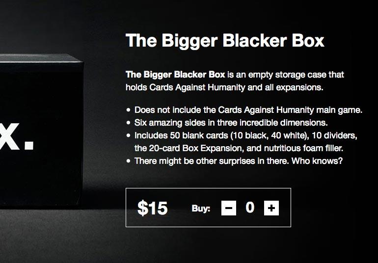 la caja negra más grande