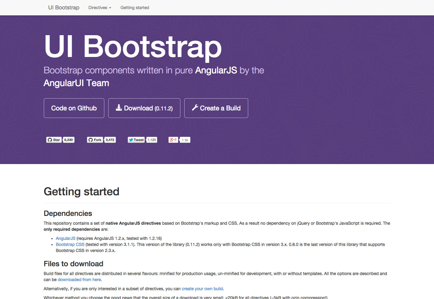 ui bootstrap