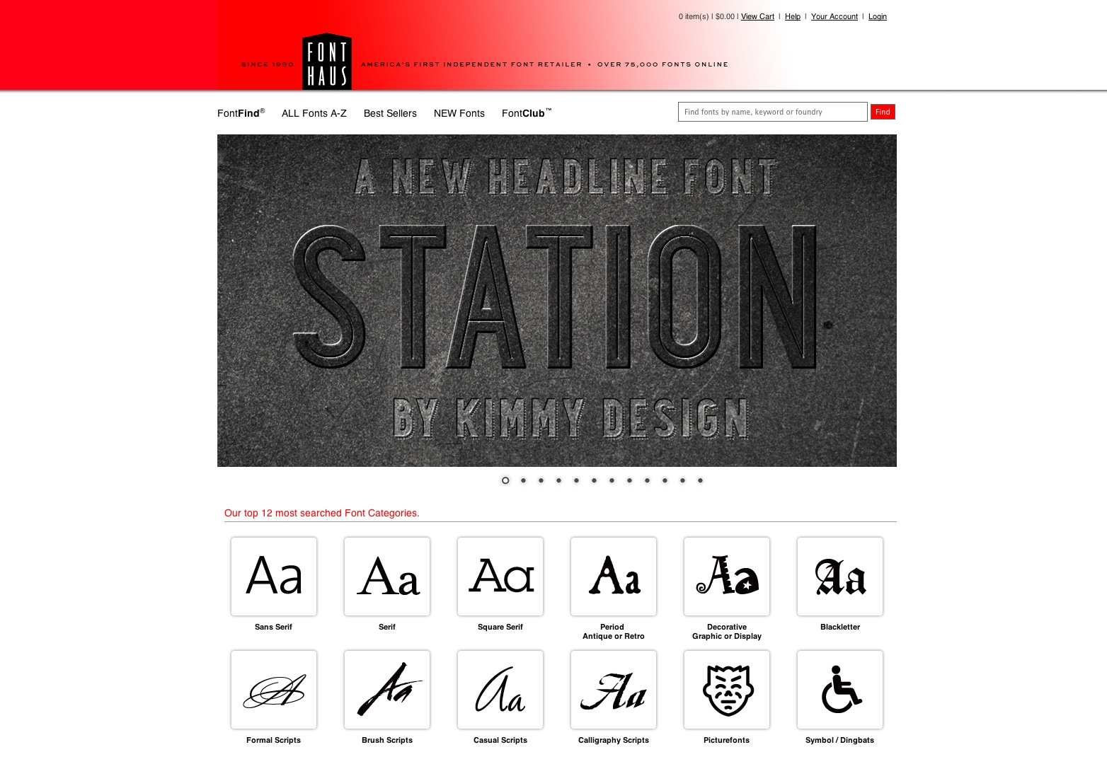 Koop en download nieuwe en populaire lettertypen tegen lage prijzen FontHaus