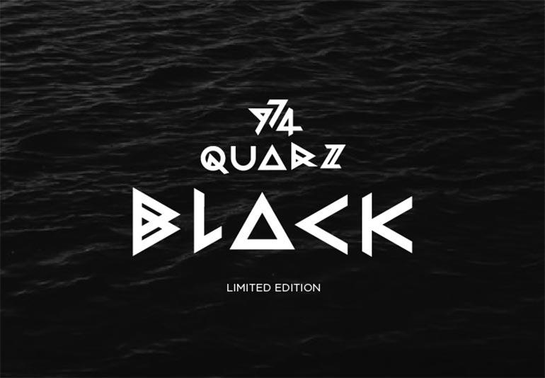 kvarz 974 černý