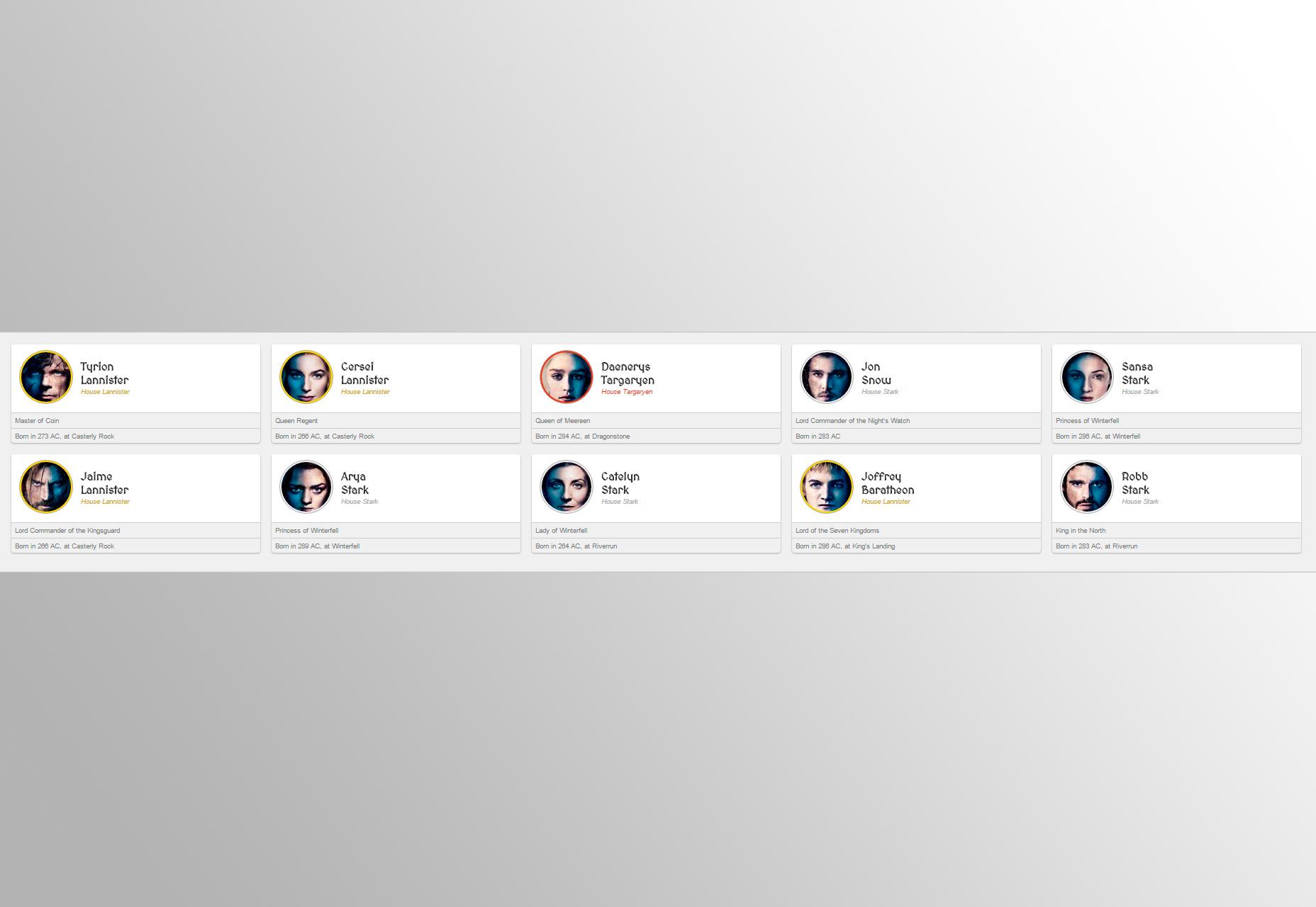 Masticar cuadrícula: una cuadrícula CSS de diseño de listado de tarjetas