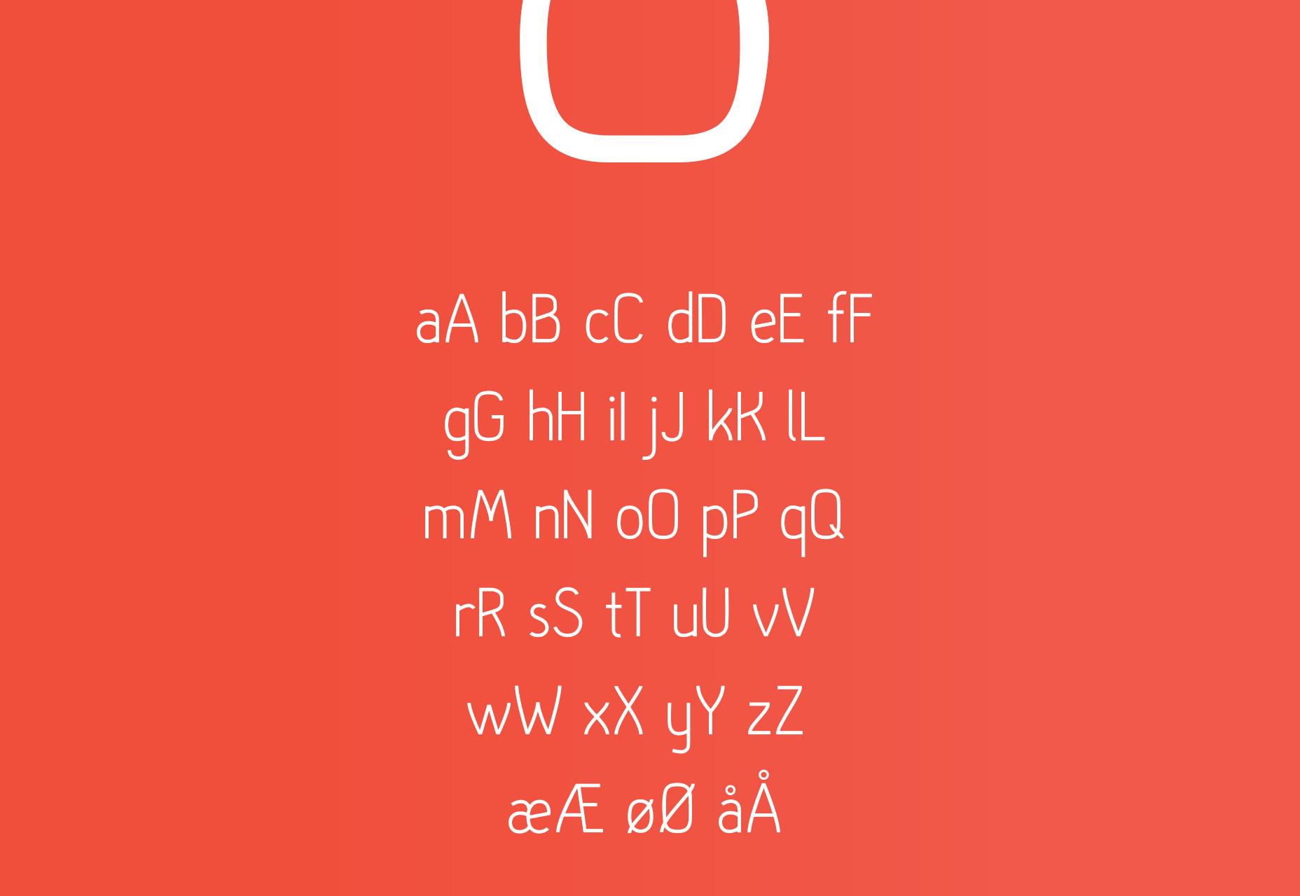 Hallo Sans: gratis elegante letterbeeld