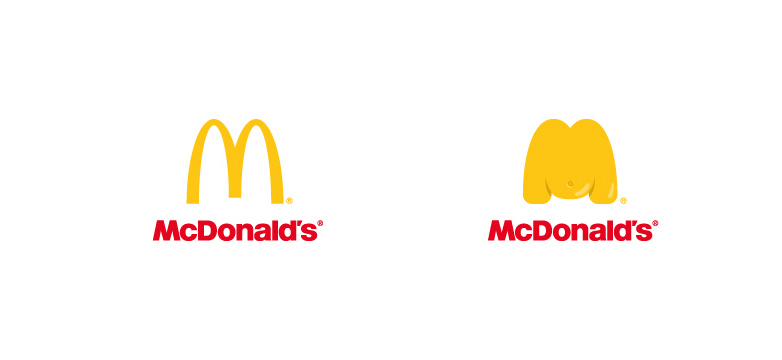 Logotipo gordo de McDonald's