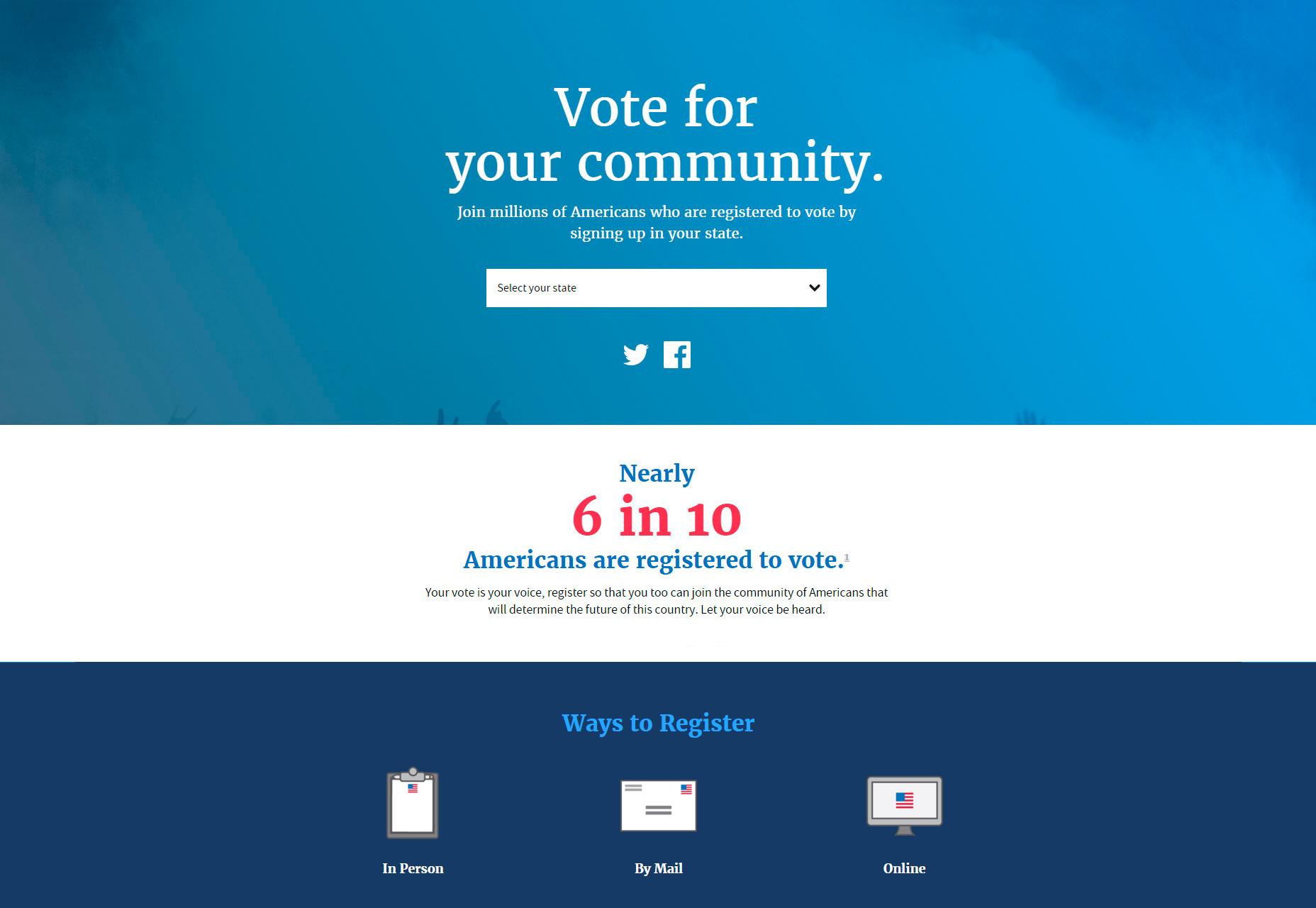 Normas de diseño web de EE. UU.
