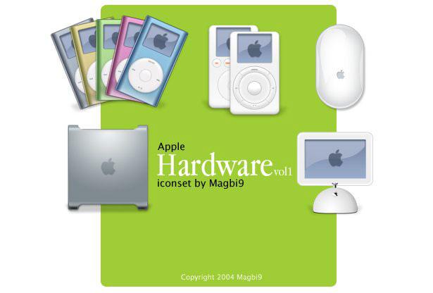 Apple Hardware Iconset
