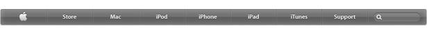 Nueva barra de navegación de Apple