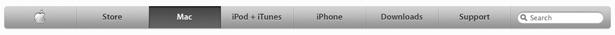 Apple navigasjon