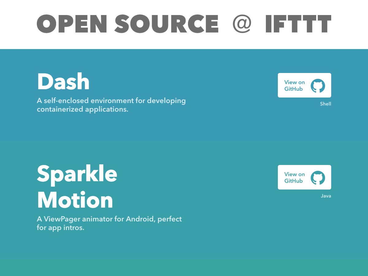 open source ifttt