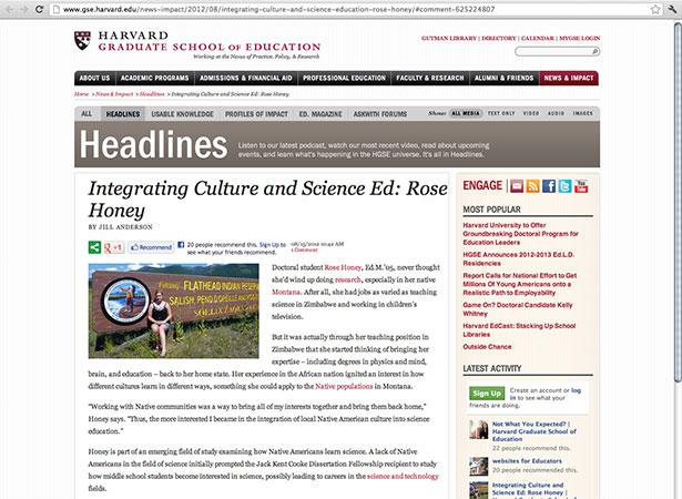 Harvard article