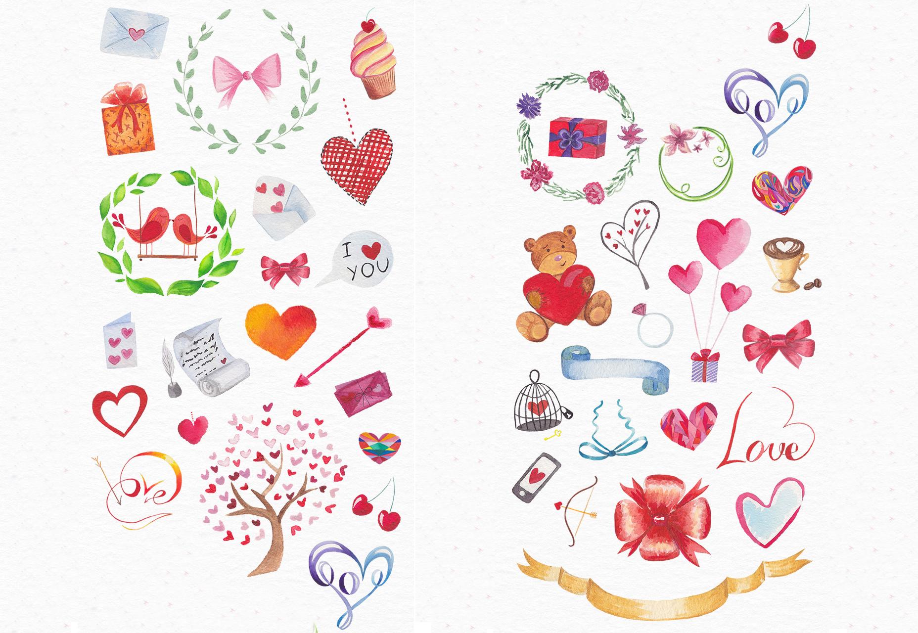 Valentijnsdagverpakking