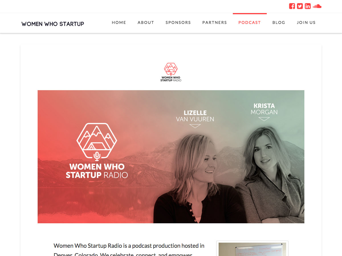 El podcast de Women Who Startup