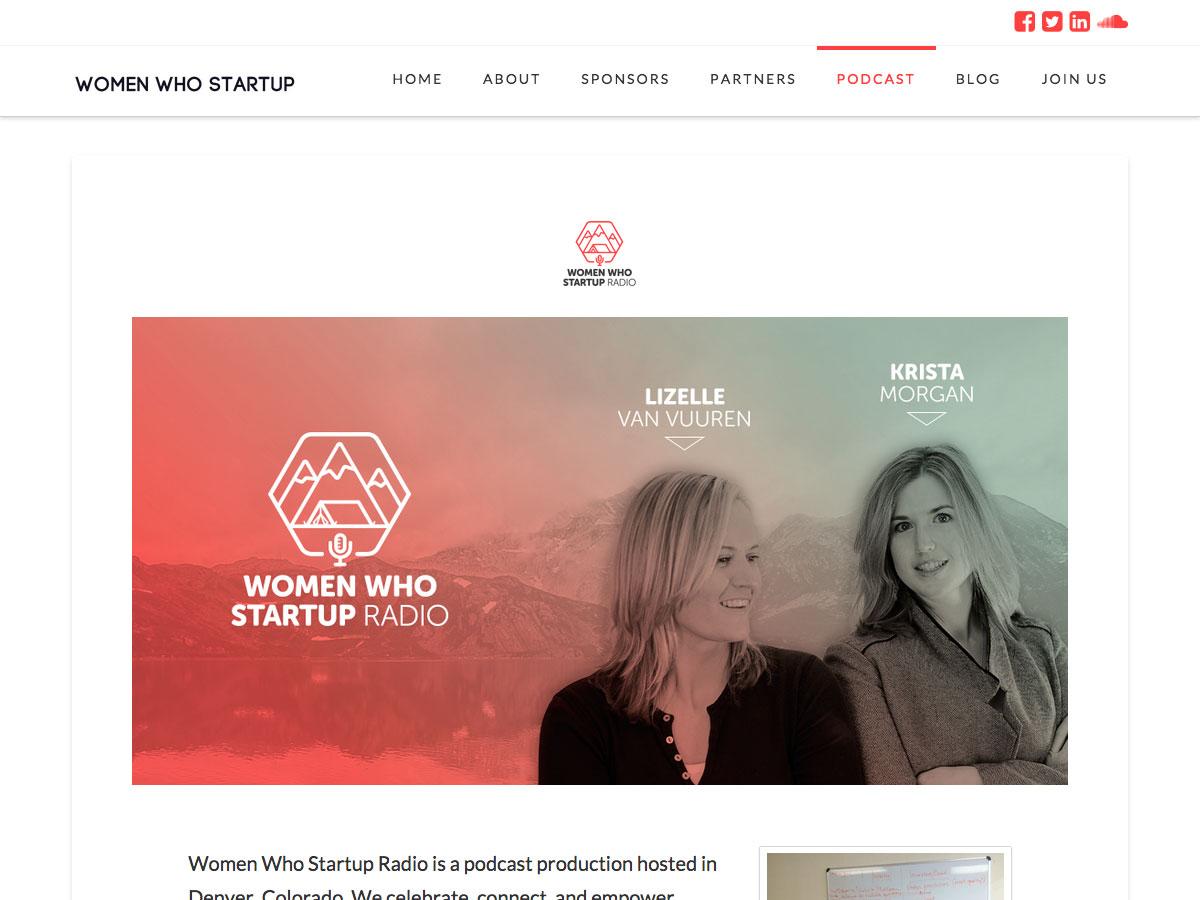 El podcast de Women Who Startup
