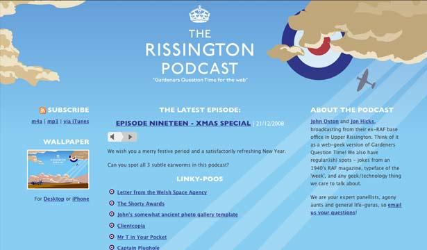 El podcast de Rissington