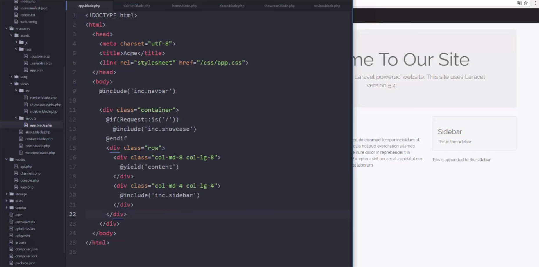 02-create-basic-laravel-website-tutorial